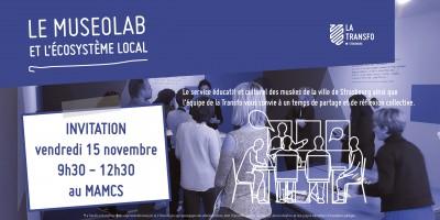 Invitation à l'atelier Museolab 15-11-19