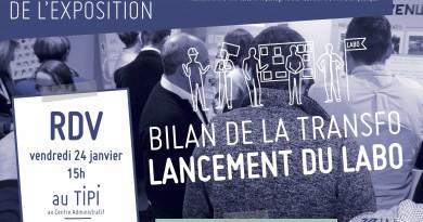 Session #14 : L'exposition de lancement du Labo